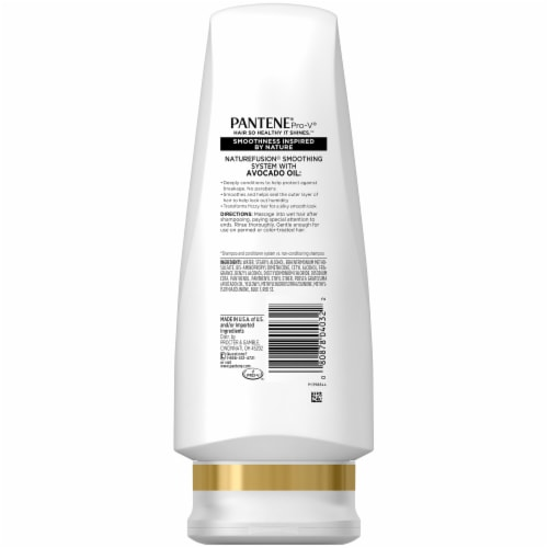Pantene Nature Fusion Smooth Vitality Conditioner Perspective: back