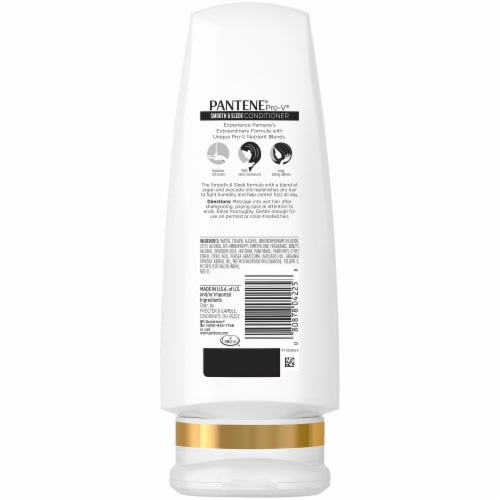 Pantene Pro-V Smooth & Sleek Conditioner Perspective: back