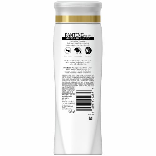 Pantene Pro-V Radiant Color Shine Shampoo Perspective: back