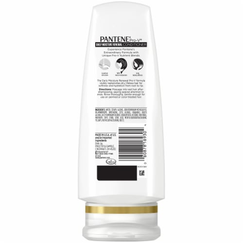 Pantene Pro-V Daily Moisture Renewal Shampoo and Conditioner Bundle Perspective: back