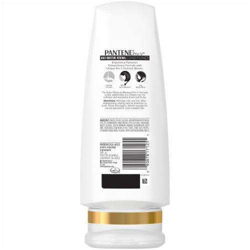 Pantene Pro-V Daily Moisture Renewal Conditioner Perspective: back