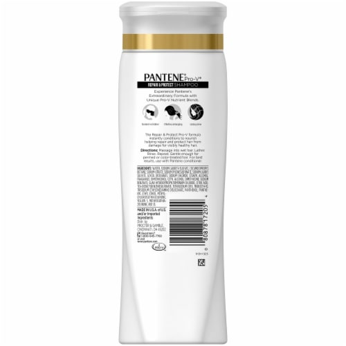 Pantene Pro-V Repair & Protect Shampoo Perspective: back