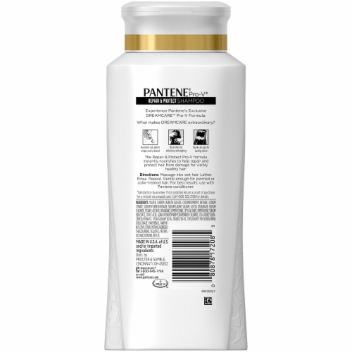 Pantene Pro-V Repair & Protect Dream Care Shampoo Perspective: back