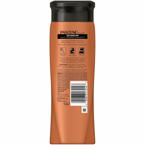 Pantene Pro-V Truly Natural Hair Moisturizing Shampoo Perspective: back