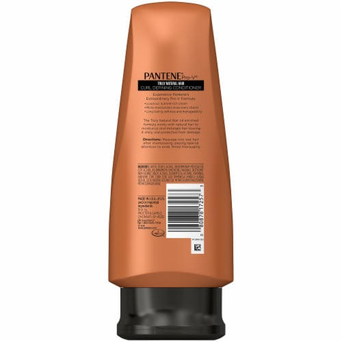 Pantene Pro-V Truly Natural Hair Curl Defining Conditioner Perspective: back