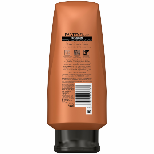 Pantene Pro-V Truly Natural Hair Co-Wash Cleansing Conditioner Perspective: back