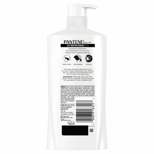 Pantene Pro-V Daily Moisture Renewal 2 in 1 Shampoo & Conditioner Perspective: back