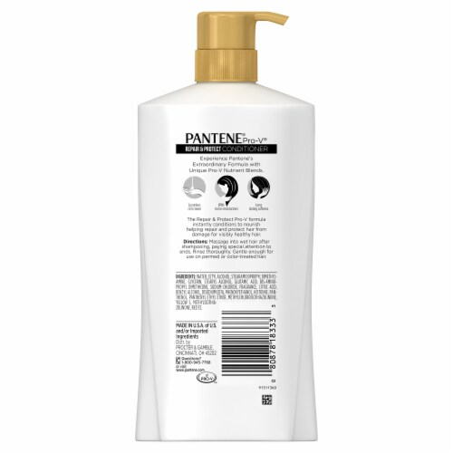Pantene® Pro-V Repair & Protect Conditioner Perspective: back