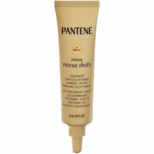 Pantene Pro-V Intense Rescue Shots Hair Ampoules Treatments Perspective: back