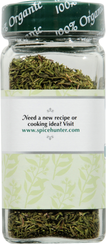 The Spice Hunter Organic Thyme Perspective: back