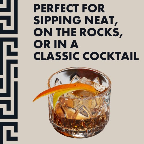 Old Forester® Kentucky Straight Bourbon Whisky Perspective: back