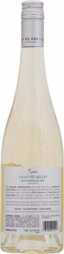 Cupcake Light Hearted Sauvignon Blanc White Wine Perspective: back
