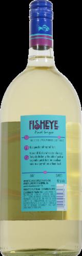 FishEye Winery Pinot Grigio White Wine Perspective: back