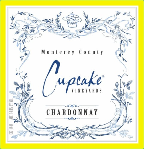 Cupcake Vineyards Chardonnay White Wine Perspective: back