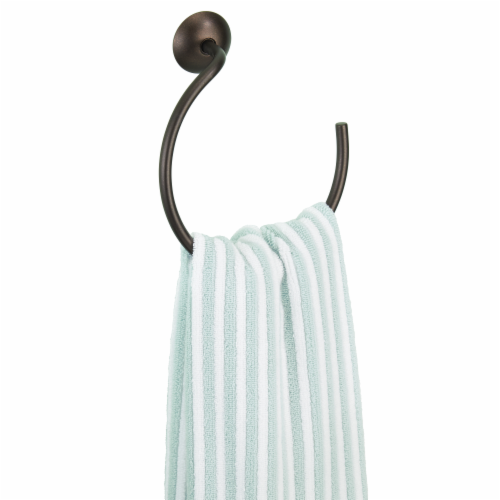 iDesign Classico Towel Ring - Bronze Perspective: back