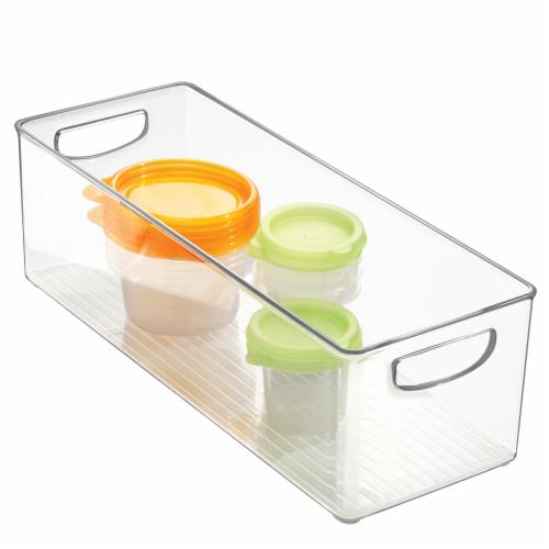 InterDesign Kitchen Binz Storage Container - Clear Perspective: back
