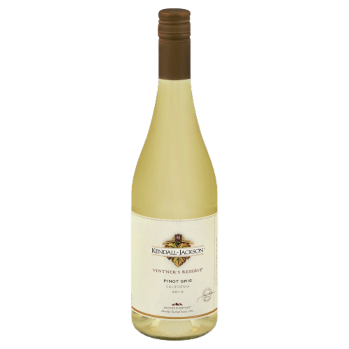 Kendall-Jackson Vintner's Reserve Pinot Gris White Wine Perspective: back