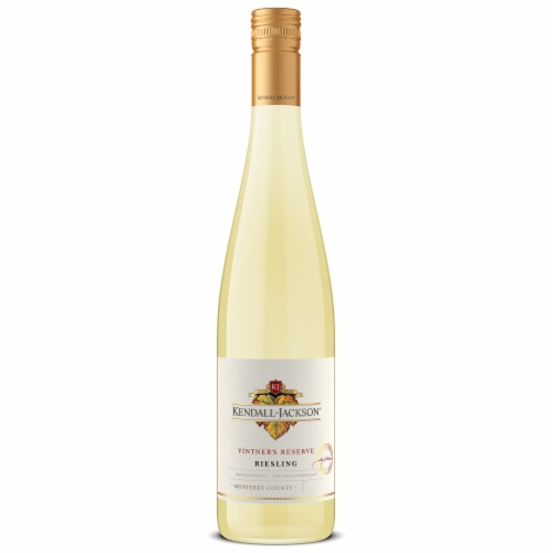 Kendall-Jackson Vintner's Reserve Riesling White Wine Perspective: back