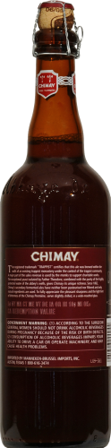 Chimay Ale Perspective: back