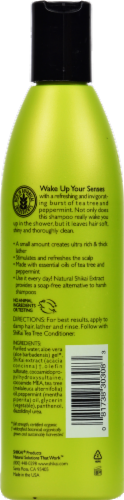 ShiKai Natural Tea Tree Shampoo Perspective: back