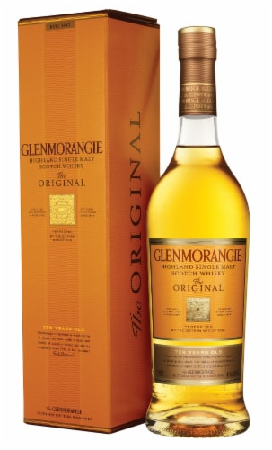 Glenmorangie The Original 10 Year Highland Single Malt Scotch Whisky Perspective: back