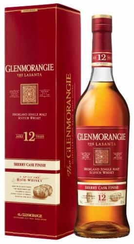 Glenmorangie The Lasanta 12 Year Highland Single Malt Scotch Whisky Perspective: back