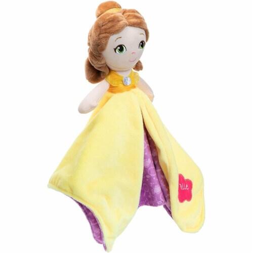 "Disney Princess Belle Blanky Plush, 12"" Perspective: back"