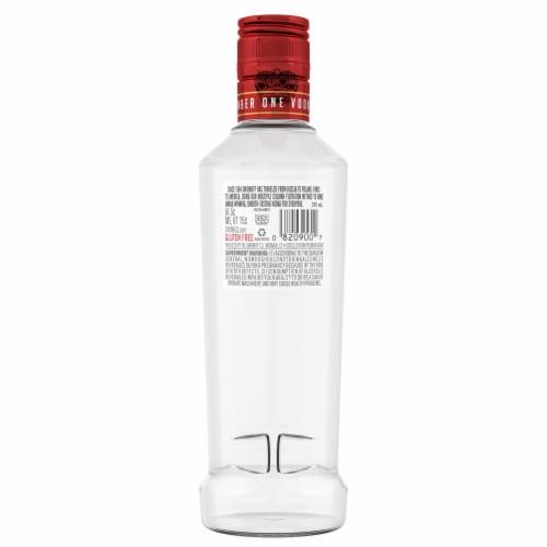 Smirnoff No. 21 Award-Winning Vodka Perspective: back