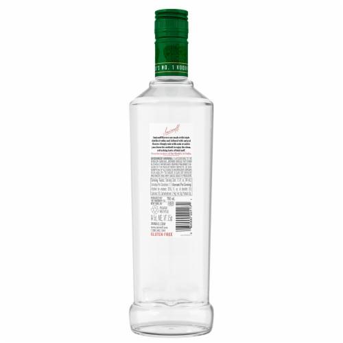 Smirnoff Watermelon Vodka Perspective: back