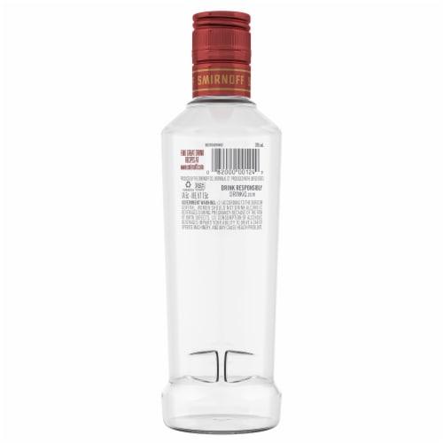 Smirnoff Cranberry Vodka Perspective: back
