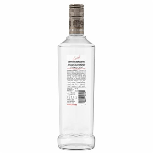 Smirnoff Vanilla Vodka Perspective: back