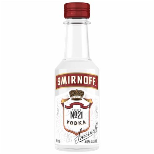 Smirnoff Red No. 21 Vodka Perspective: back