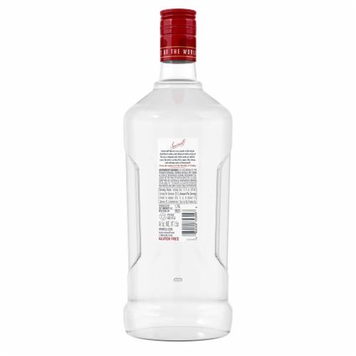 Smirnoff Raspberry Vodka Perspective: back