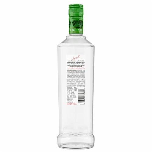 Smirnoff Lime Vodka Perspective: back