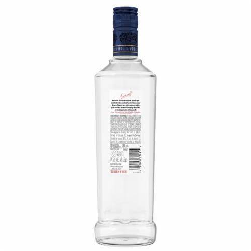 Smirnoff Blueberry Vodka Perspective: back