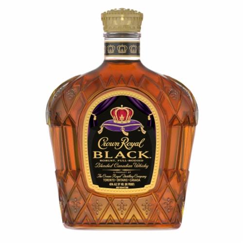Crown Royal Black Blended Canadian Whisky Perspective: back