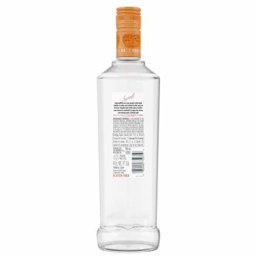 Smirnoff Peach Vodka Perspective: back