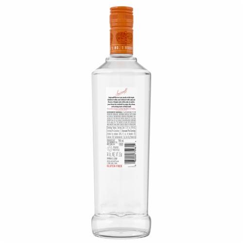 Smirnoff Kissed Caramel Vodka Perspective: back