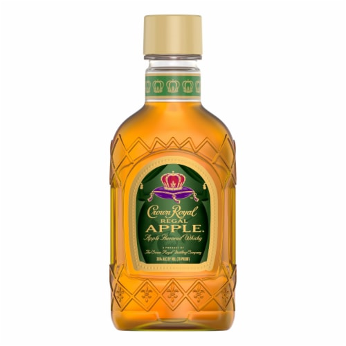 Crown Royal Regal Apple Flavored Whisky Perspective: back