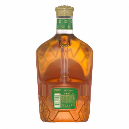 Crown Royal Regal Apple Flavored Canadian Whisky Perspective: back