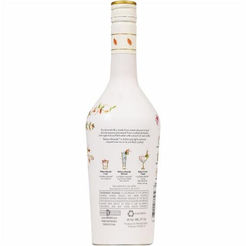 Baileys Almande Almondmilk Liqueur Perspective: back