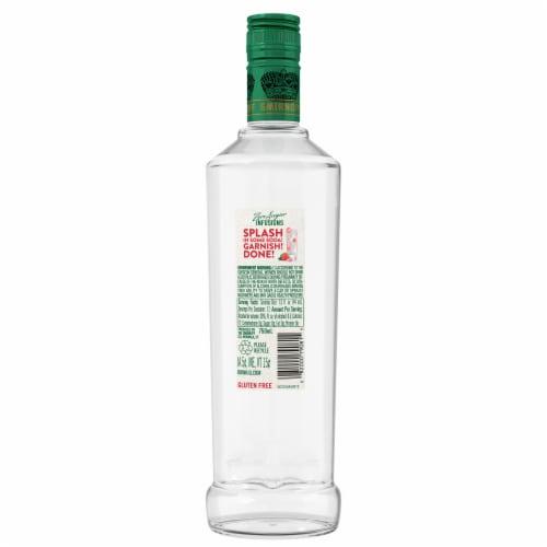 Smirnoff Zero Sugar Infusions Strawberry & Rose Vodka Perspective: back