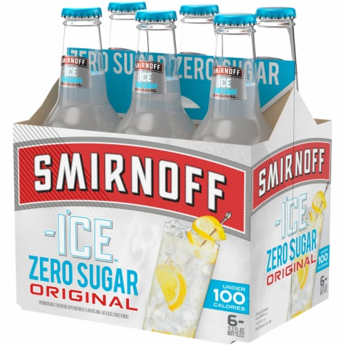 Smirnoff Ice Original Zero Sugar Premium Malt Beverage Perspective: back
