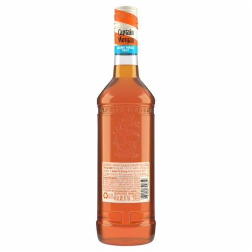 Captain Morgan Orange Vanilla Twist Caribbean Rum Perspective: back