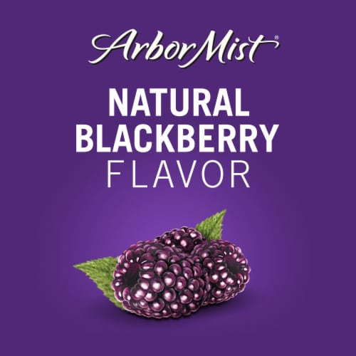 Arbor Mist Blackberry Merlot Red Wine Perspective: back