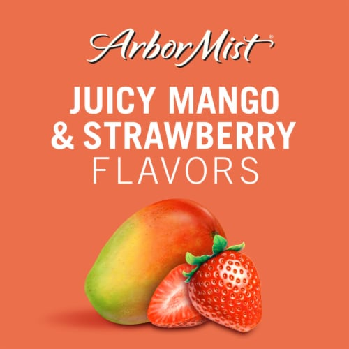 Arbor Mist Mango Strawberry Moscato White Wine Perspective: back