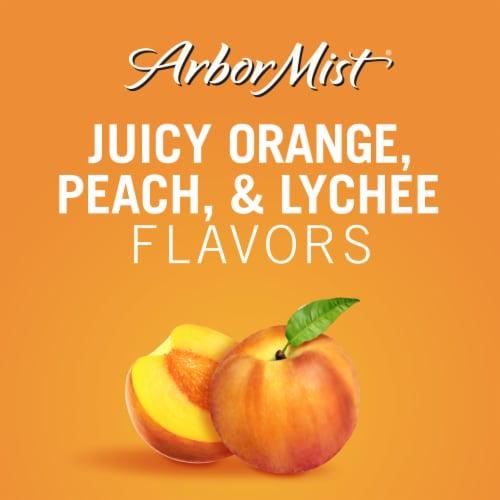 Arbor Mist Peach Moscato Fruit Wine Perspective: back