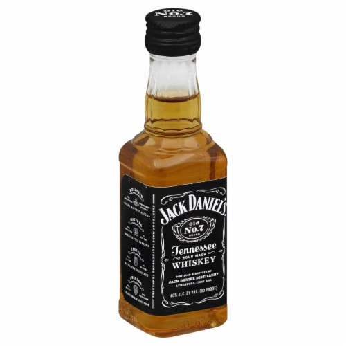 Jack Daniel's Old No. 7 Tennessee Whiskey Perspective: back