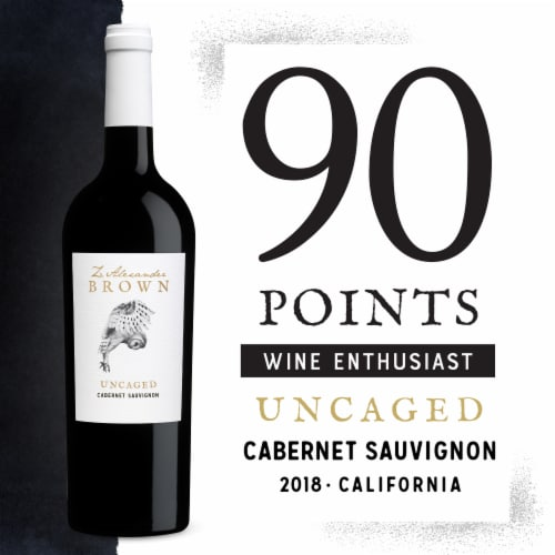 Z. Alexander Brown Cabernet Sauvignon Red Wine Perspective: back