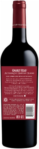 Gnarly Head Authentic Harvest Blend Red Wine Perspective: back